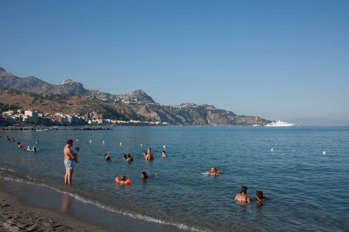 D. Smagurauskaitės nuotr./Miestelis Giardini Naxos