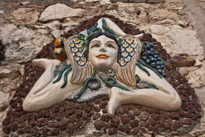 D. Smagurauskaitės nuotr./Trinacria - Sicilijos simbolis