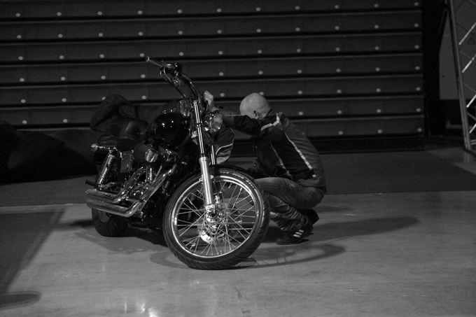 Eglės Abromaitės nuotr./Motociklas