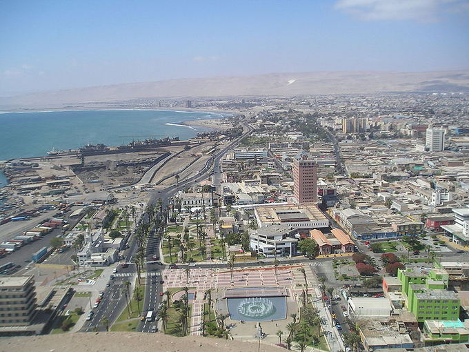 wikimedia.org nuotr/Arika  miestas, esantis Čilės aiaurinėje dalyje
