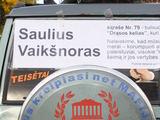 """Kristinos Vyšniauskaitės nuotr./""""Drąsos kelio"""" kandidato reklama"""
