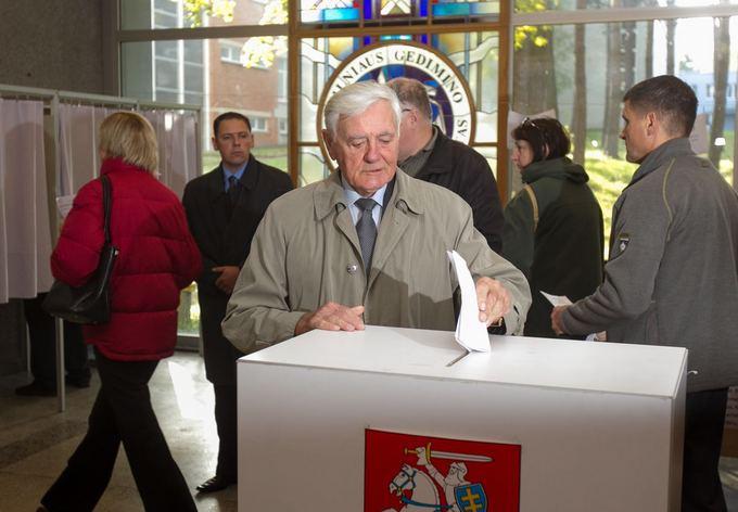 Irmanto Gelūno/15min.lt nuotr./Former President Valdas Adamkus