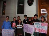 Protesto dalynių nuotr./Protestai prieš nesąžiningus rinkimus