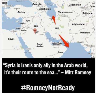 DailyKos.com nuotr./Žemėlapis Mittui Romney