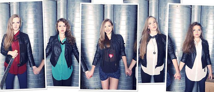 Asmeninio archyvo nuotr./Merginų grupė Roxy Five