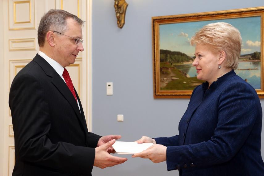 Egidijus Meilūnas ir Dalia Grybauskaitė