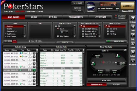 Internetinio pokerio gigantas pristato naują programinę įrangą