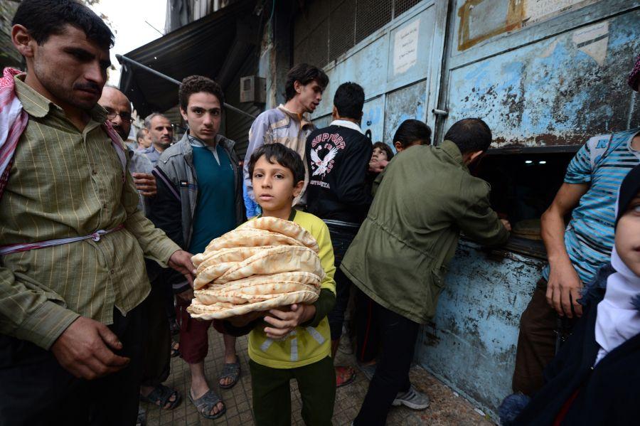 Sirijos žmonės musulmonišką šventę pasitiks taikiai.