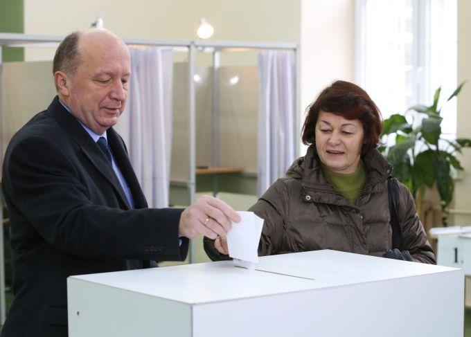 A.Kubilius atidavė balsą antrajame rinkimų ture.