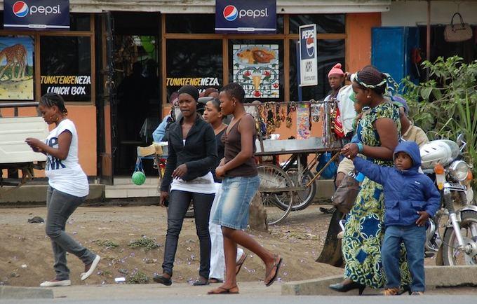 Eglės Digrytės nuotr./Tanzanijos žmonės
