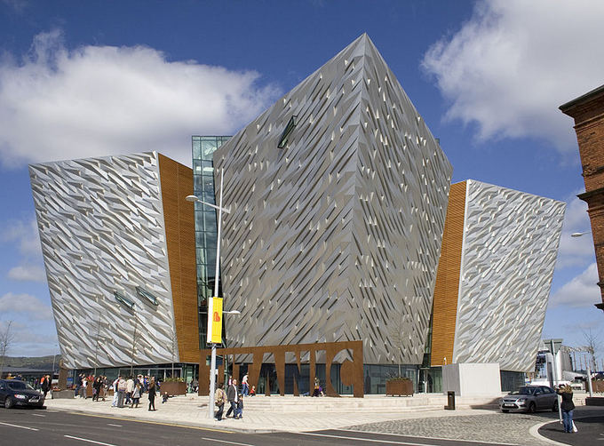 Wikimedia.org nuotr./Titaniko muziejus Belfaste