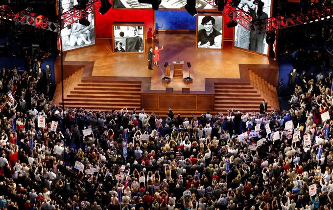 Reuters/Scanpix nuotr./Mitto Romney susitikimas su rinkėjais