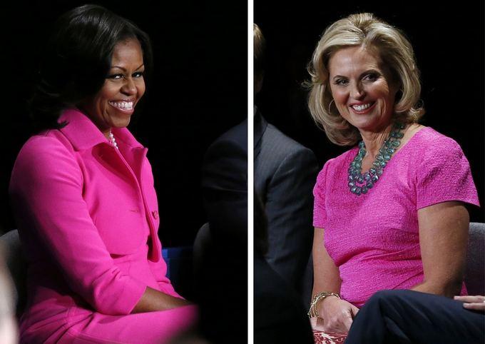 Scanpix nuotr./Michelle Obama (kairėje) ir Ann Romney