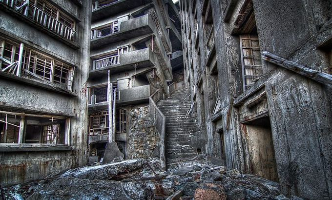 wikimedia.org nuotr./`arvuotlaivių arba Haaima sala: Laiptai į pragarą