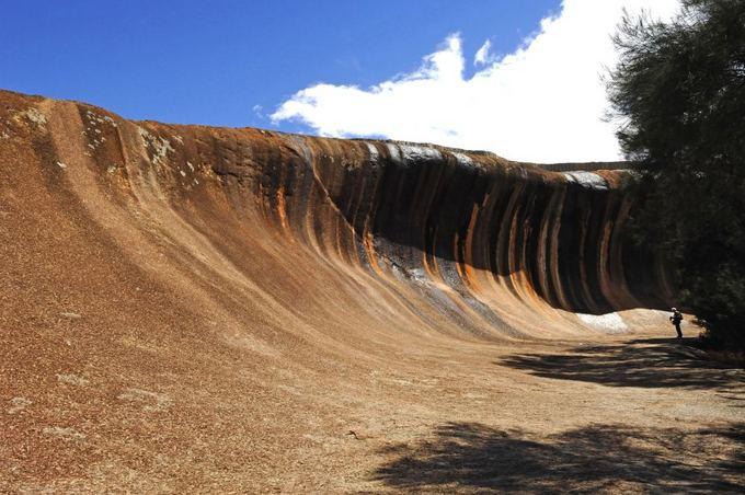Fotolia nuotr./Bangos formos uola Australijoje