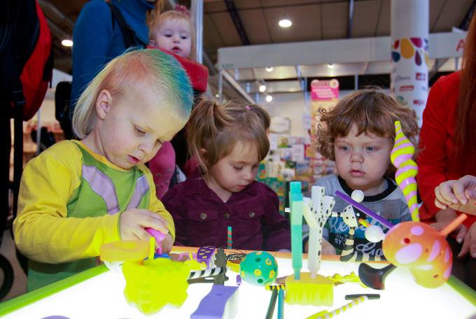 Organizatorių nuotr./Akimirka ia 2011-ųjų parodos Vaikų aalis