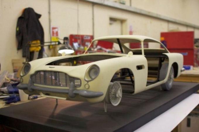 Gamintojo nuotr./Aston Martin DB5 muliažas