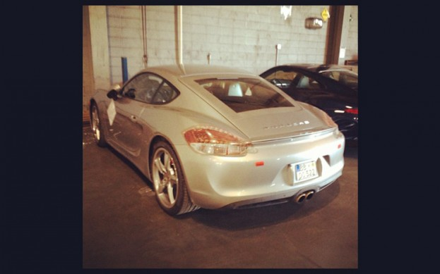 Instagram nuotr./Porsche Cayman