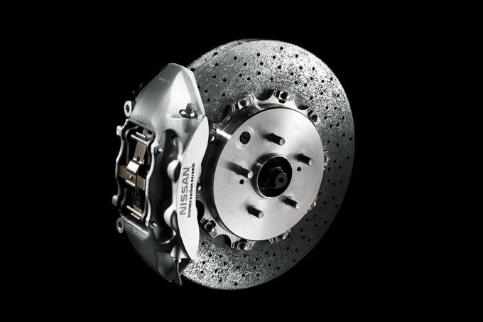 Gamintojo nuotr./Nissan GT-R V Spec stabdžiai