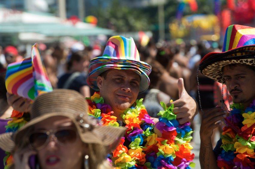 Spalvingo homoseksualų parado akimirkos