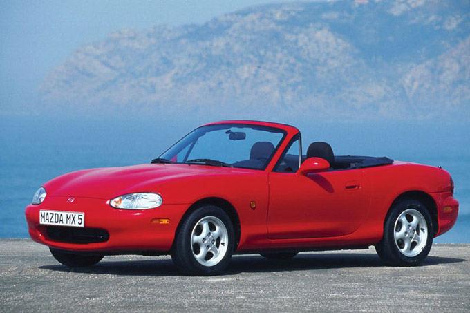 Gamintojo nuotr./Mazda MX-5