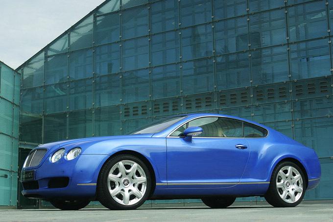Gamintojo nuotr./Bentley Continental GT