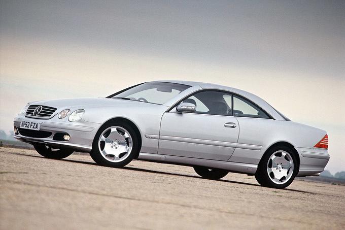 Gamintojo nuotr./Mercedes-Benz CL klasė