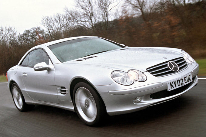 Gamintojo nuotr./Mercedes-Benz SL klasė