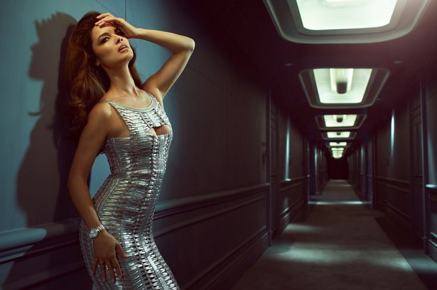 Omega nuotr./Berenice Marlohe Omega reklamoje