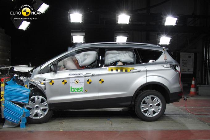 Euro NCAP nuotr./Ford Kuga