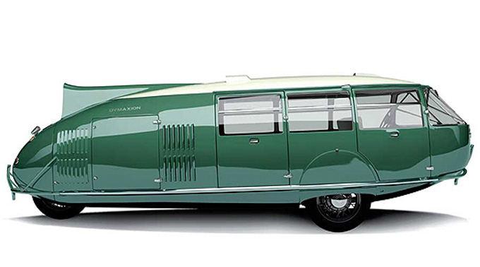 Gamintojo nuotr./Fuller Dymaxion