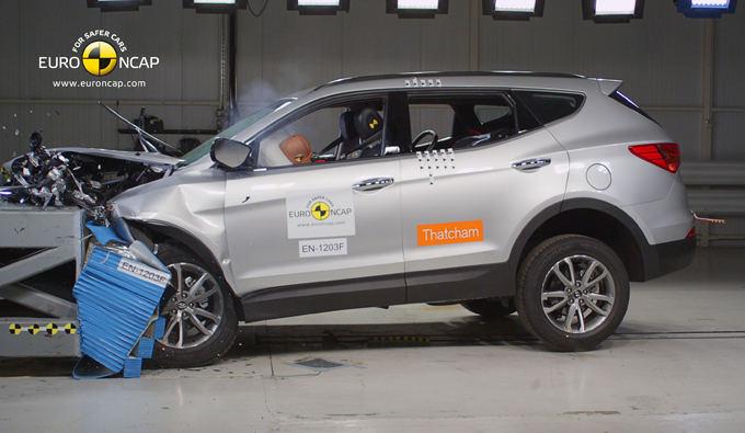 Euro NCAP nuotr./Hyundai Santa Fe