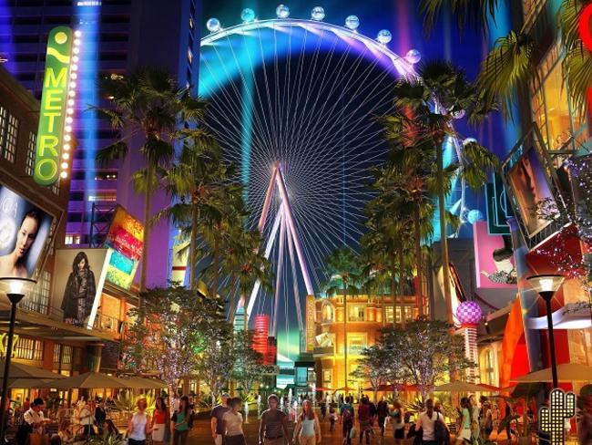 SKF nuotr./Las Vegas High Roller