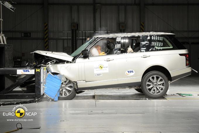 Euro NCAP nuotr./Range Rover