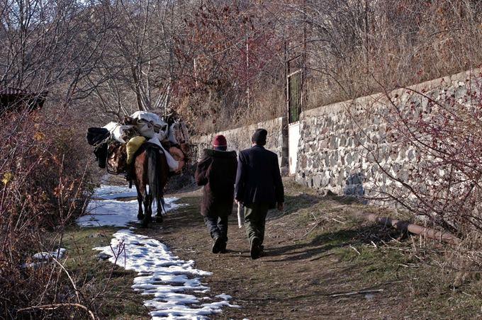 V.Samarinaitės nuotr./Armėnijos kalnų gilumoje