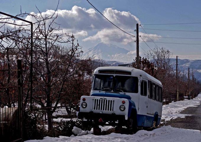 V.Samarinaitės nuotr./`alia Ararato kalno