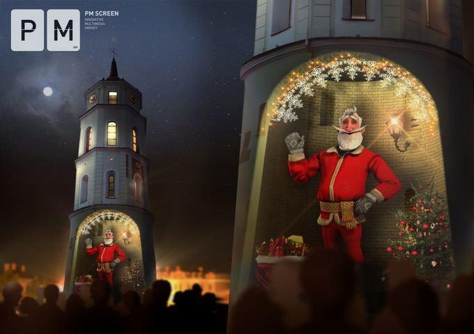`ių metų Vilniaus Kalėdų Senelis