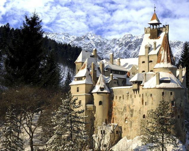 Fotolia nuotr./Drakulos pilis Transilvanijoje (Rumunija)