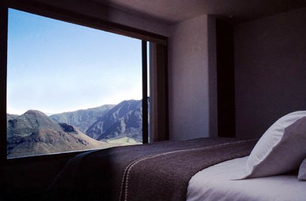 Hotels.com nuotr./Ekvadoras kviečia į viešbutį ugnikalnio krateryje