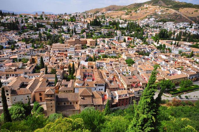 Fotolia nuotr./Granados miestas Ispanijoje