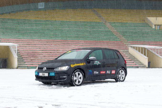 Organizatorių nuotr./Volkswagen Golf
