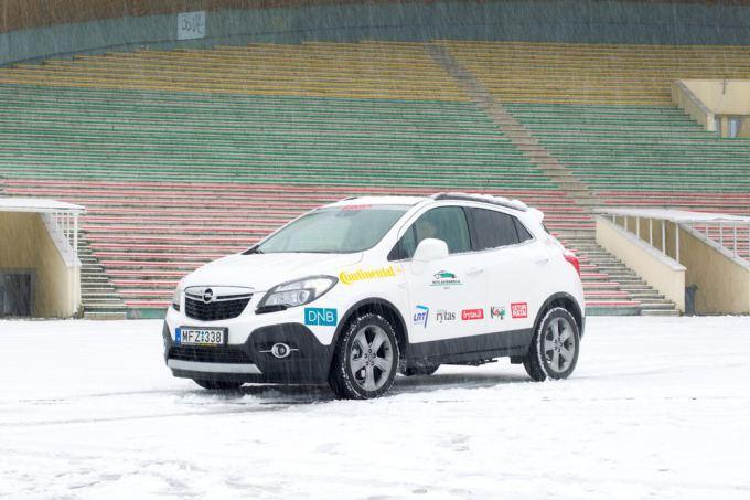 Organizatorių nuotr./Opel Mokka