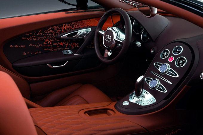 Gamintojo nuotr./Bugatti Veyron Grand Sport