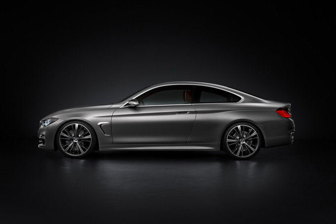 Gamintojo nuotr./BMW Concept 4 Series Coupe