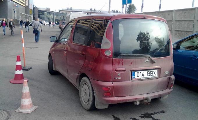 GAZAS.LT skaitytojo nuotr./Rusijoje sutinkama ir automobilių su estiakais numeriais