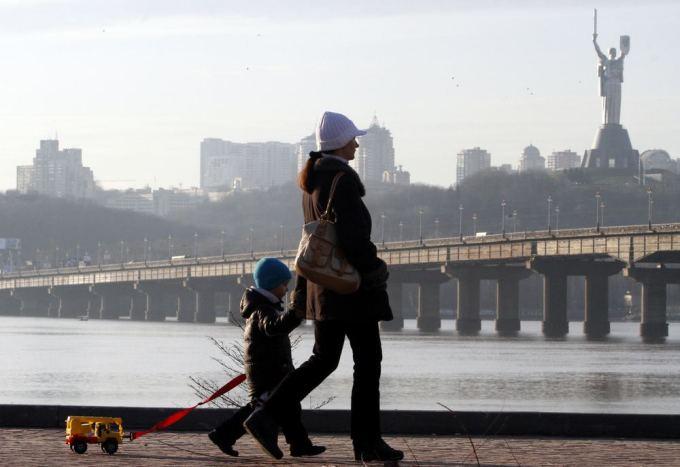 Reuters/Scanpix nuotr./Dniepro upė Kijeve