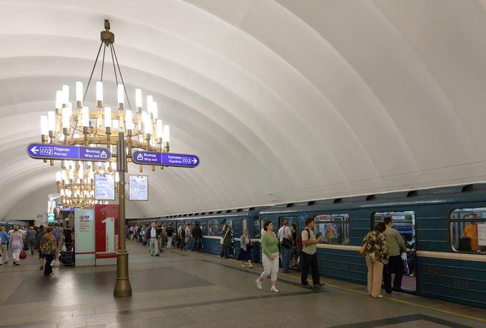 123rf.com nuotr. /Sankt Peterburgo metro