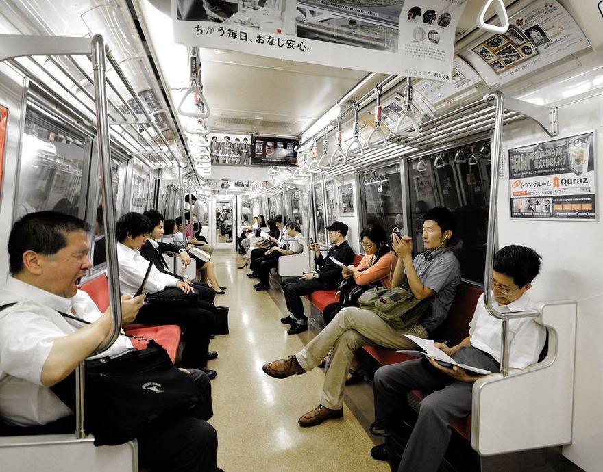 123rf.com nuotr. /Tokijo metro