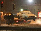 Juliaus Kalinsko/15 minučių nuotr./Automobilis Audi po avarijos