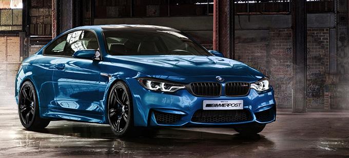 BMW M4 eskizas